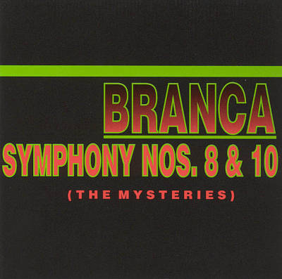 Glenn Branca Symphonies Nos. 8, 10 &12 Conducted by John Myers with special guest guitarist Reg Bloor